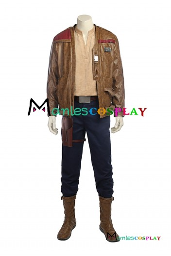 Star Wars 8 The Last Jedi Finn Cosplay Costume