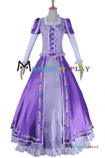 Tangled Princess Rapunzel Cosplay Costume
