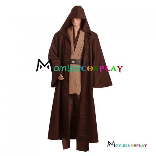 Star Wars Kenobi Jedi Cosplay Costume