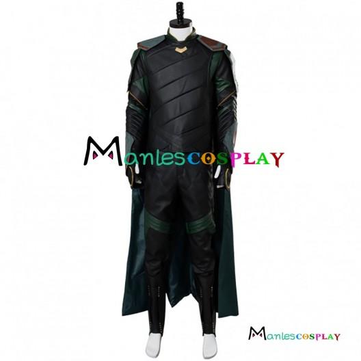 Thor 3 Ragnarok Loki Cosplay Costume