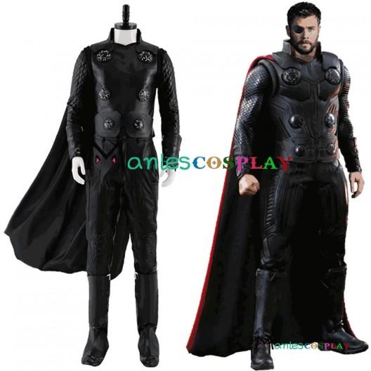 Avengers Infinity War Thor Cosplay Costume