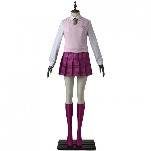 Akamatsu Kaede Costume For Danganronpa V3 Killing Harmony Cosplay
