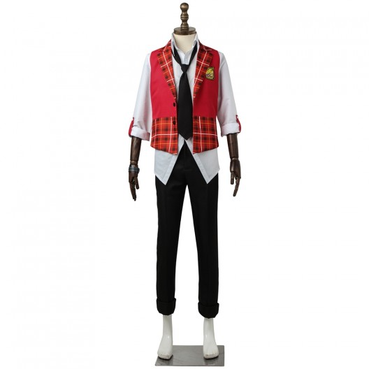 Akiyama Hayato Costume For The Idolmaster SideM High x Joker Cosplay