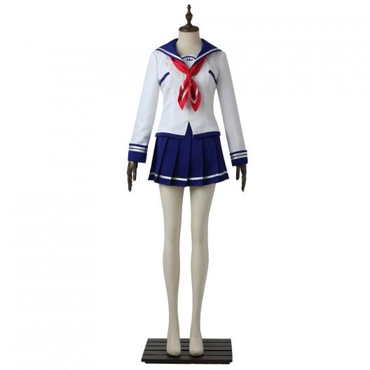 Asuha Kusunoki Uniform For Battle Girl High School Cosplay