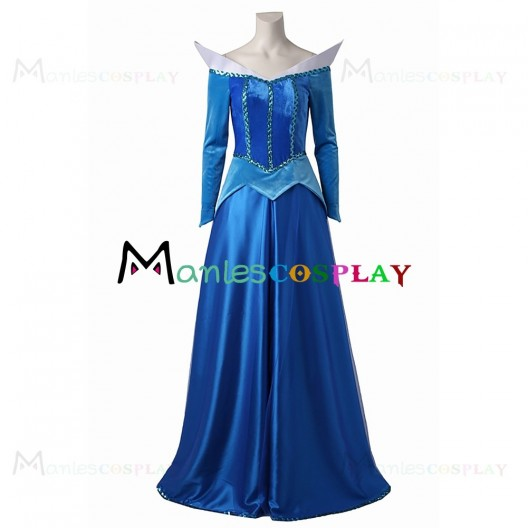 Aurora Princess Dress For Disney Prince and Princess Cosplay