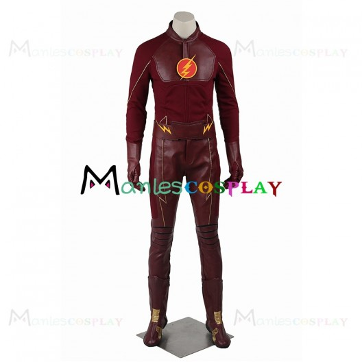 Barry Allen Costume For The Flash Season One Cosplay