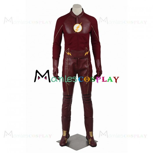 Barry Allen Costume For The Flash Season Two Cosplay