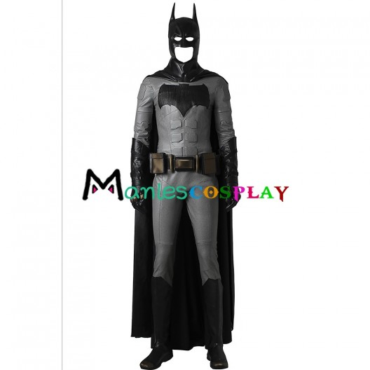 Batman Costume For Justice League Bruce Wayne Cosplay