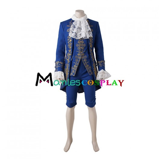 Beast Prince Adam Costume For Beauty and the Beast Cosplay