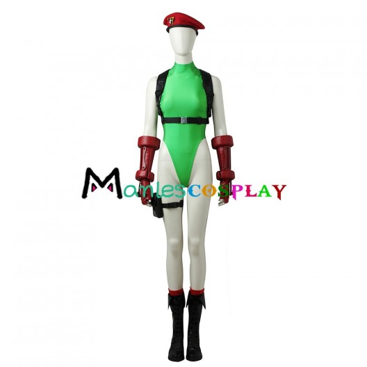 Cammy White Costume For Street Fighter V Cosplay