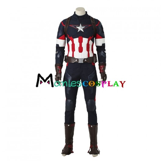 Captain America Costume For Avengers Age Of Ultron Cosplay