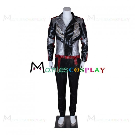 Carlos Son of Cruella De Vil Costume For The Descendants 2 Cosplay