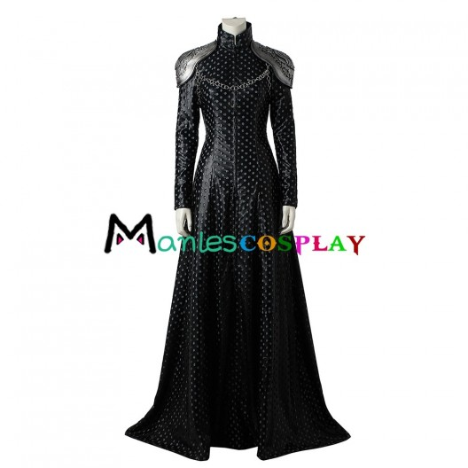 Cersei Lannister Costume For Game of Thrones Season 7 Cosplay New