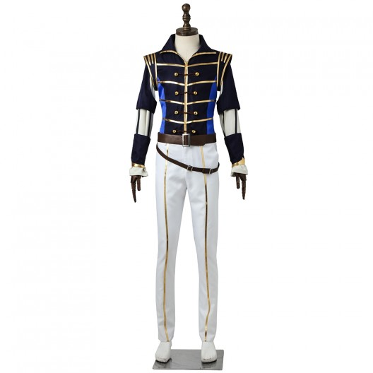 Chigasaki Itaru Uniform Costume For A3 First SPRING EP Cosplay