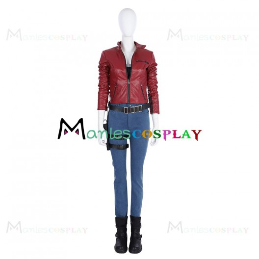 Claire Redfield Costume For Resident Evil Apocalypse Cosplay