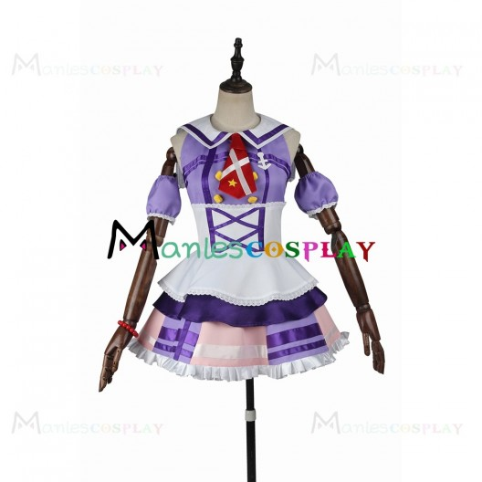 Dia Kurosawa Purple Dress For LoveLive Sunshine Aqours Cosplay