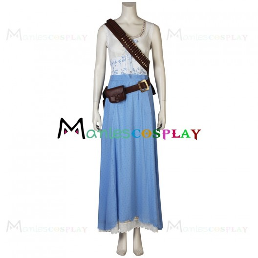 Dolores Abernathy Dress Costume For Westworld Cosplay