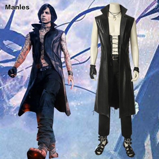 May Cry 5 Cosplay Nero Costume