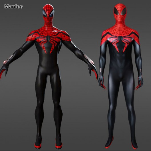 The Superior Spider-Man Peter Parker Spiderman Cosplay Costume