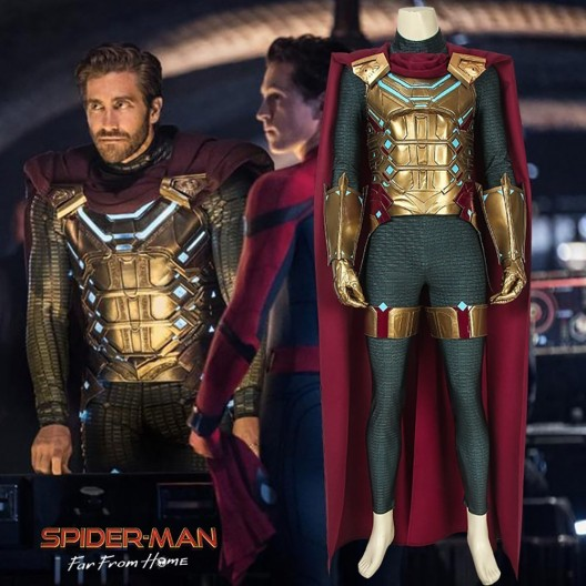 Spider-Man Far From Home Mysterio Spiderman Cosplay Costume