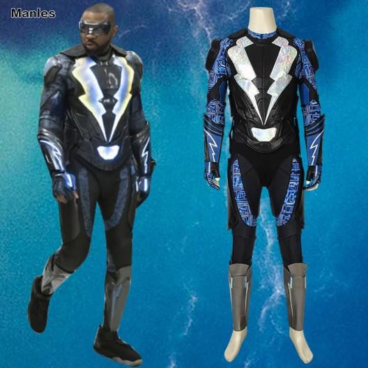 Black Lightning Season 2 Cosplay Jefferson Pierce Costume