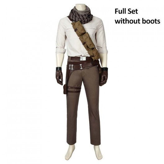 Star Wars The Rise Of Skywalker Cosplay Pilot Poe Dameron Costume