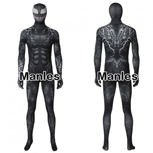 Venom Symbiote Brock Eddie Cosplay Costume