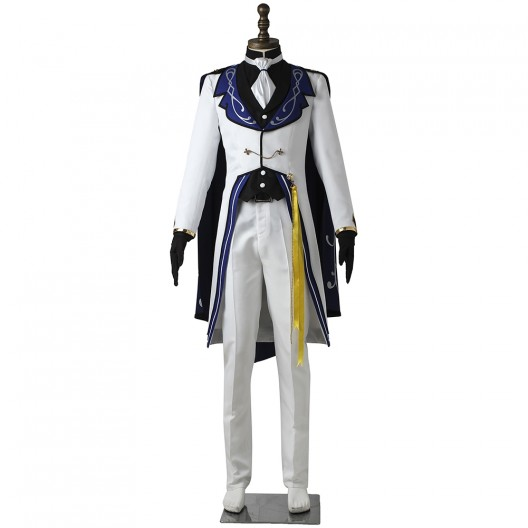 Eichi Tenshouin Costume For Ensemble Stars Reminiscence Monochrome Checkmate Cosplay