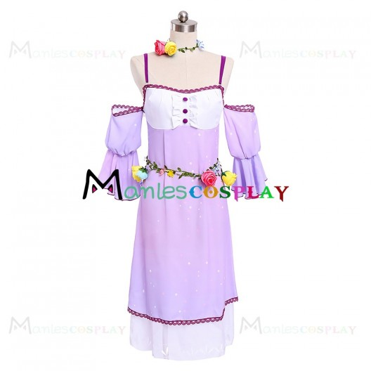 Eli Ayase Purple Dress For LoveLive Sunshine Cosplay