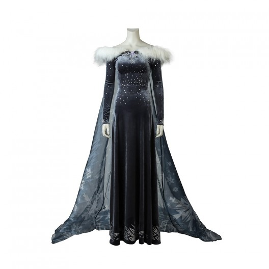 Elsa Dress For Frozen Adventure Cosplay