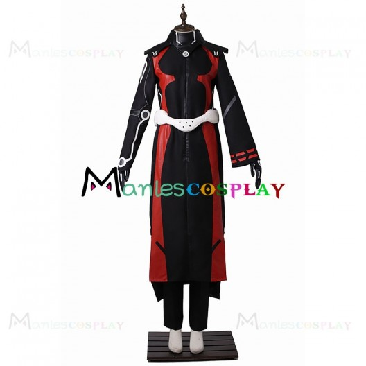 Enmadou Rokuro Black Costume For Twin Star Exorcists Cosplay