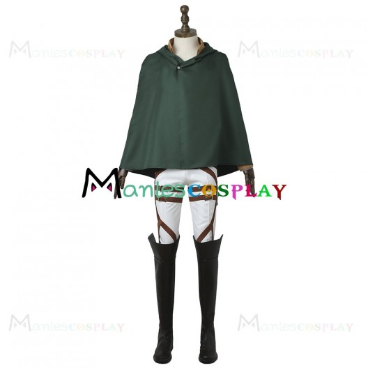 Eren Yeager Uniform For Attack On Titan Shingeki No Kyojin Cosplay With Armor Guard