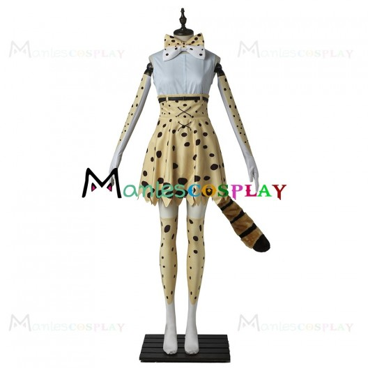 Serval Costume for Kemono Friends Cosplay