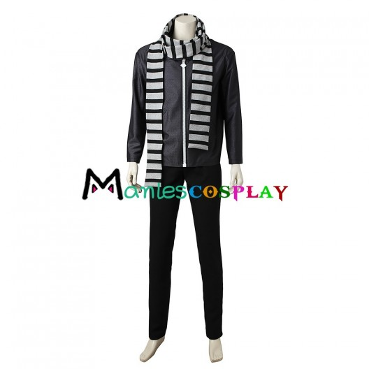 Gru Costume For Despicable Me 3 Cosplay