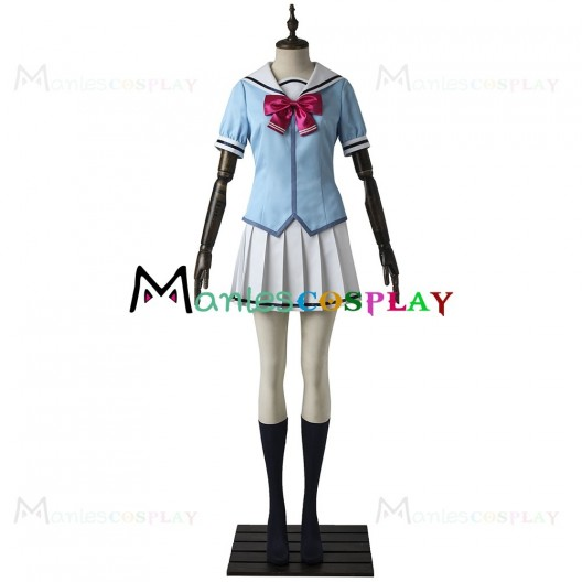Hanasakigawa Girls High School Summer Uniform For BanG Dream Cosplay