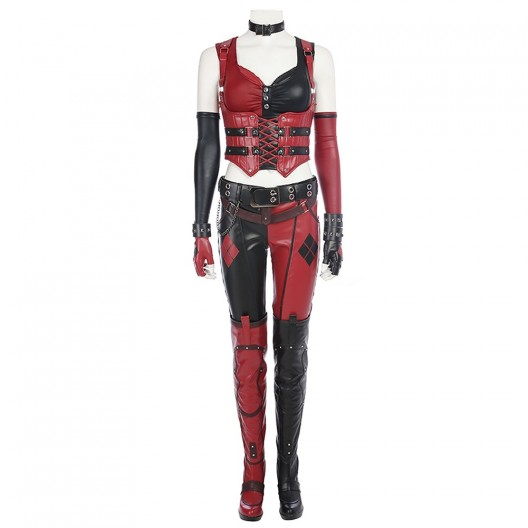 Harley Quinn New Uniform Costume For Batman Arkham Knight Cosplay