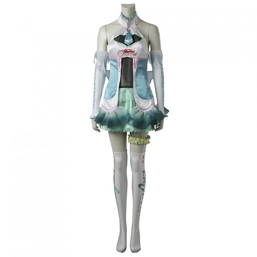 Hatsune Miku Dress For Vocaloid 2 GOODSMILE RACING 2017 Cosplay