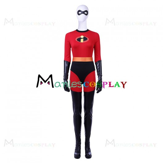 Helen Parr Uniform For The Incredibles Cosplay