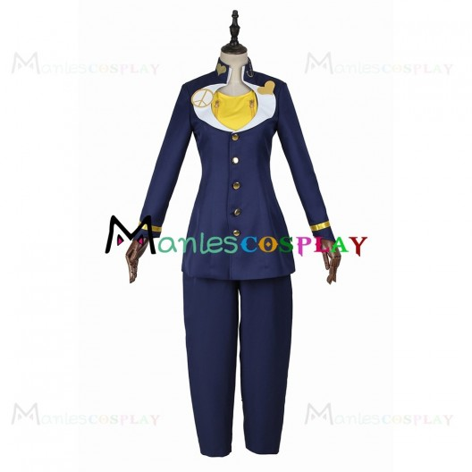 Higashikata Josuke Costume For JoJos Bizarre Adventure Cosplay