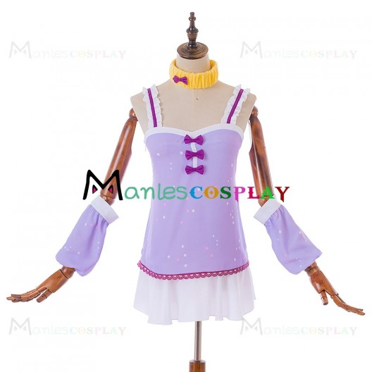 Honoka Kousaka Purple Dress For LoveLive Sunshine Cosplay