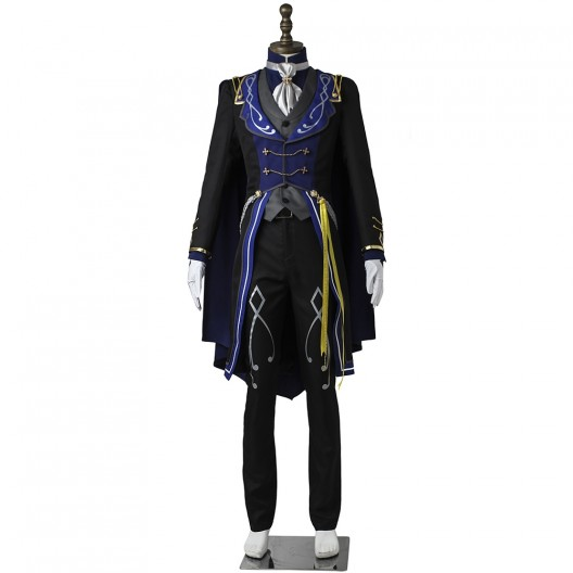 Izumi Sena Costume For Ensemble Stars Reminiscence Monochrome Checkmate Cosplay