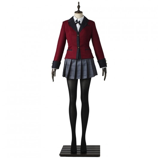 Jabami Yumeko Uniform For Kakegurui Compulsive Gambler Cosplay