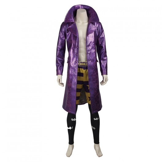 Jared Leto The Joker Costume For Suicide Squad Cosplay