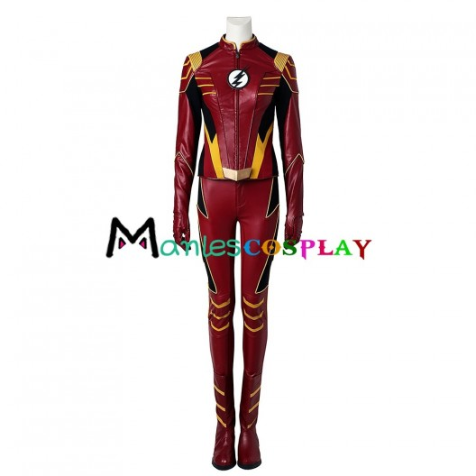 Jesse Quick Costume For The Flash Season 3 Cosplay