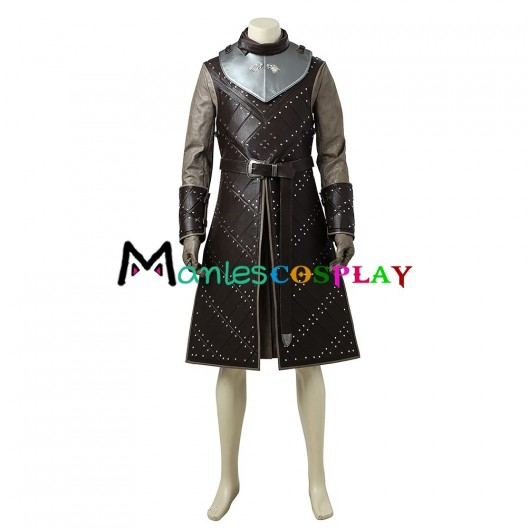 Jon Snow Costume For Game of Thrones Season 6 Cosplay