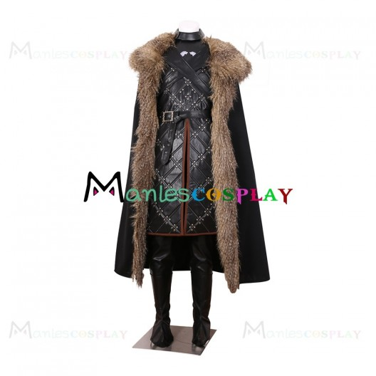 Jon Snow Costume For Game of Thrones Season 7 Cosplay