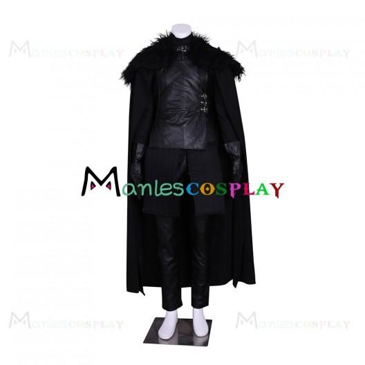 Jon Snow Uniform Costume For Game of Thrones Cosplay