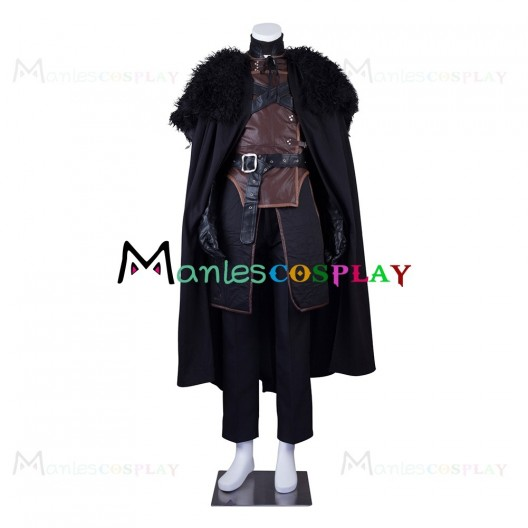 Jon Snow Uniform For Game of Thrones Cosplay