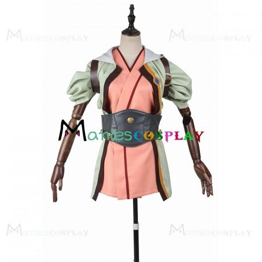 Kajika Costume For Kabaneri of the Iron Fortress Cosplay