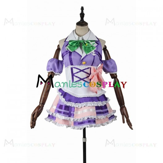 Kanan Matsuura Purple Dress For LoveLive Sunshine Aqours Cosplay